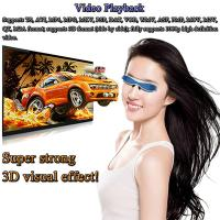"A8/1GB/8GB/32GB TF Card 98"" Virtual Display with AV IN HDMI 3D Video Glasses Manufacturer"