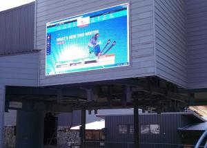 China Stage Background P6 Outdoor Full Color LED Display Video Wall , Synchronous / Asynchronous on sale