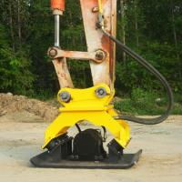 Agriculture Hydraulic Plate Compactor , 2000 Rpm Excavator Plate Compactor