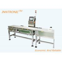 220V Check Weigher Machine High Accuracy Detecting Rejected Products