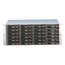 China Linux Dedicated Server Hosting 128CH NVR 24 Hdd Bays CCTV Storage Server on sale