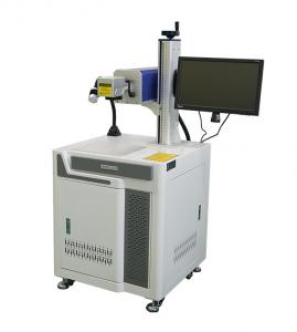 China 2D 3D 10W 30W Food Package CO2 Laser Marking Engraving Machine on sale