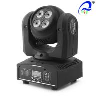 China 4 IN 1 Multifunctional LED Stage Light Mini Wash Moving Head IP33 Waterproof Rating on sale
