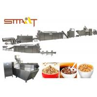 EN Standard Snack Food Extruder Machine , Automatic Puff Snack Production Line