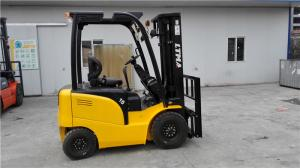 China Full AC Motor Mini Electric Forklift Truck 1000kg Capacity 920mm Fork Lenghth on sale