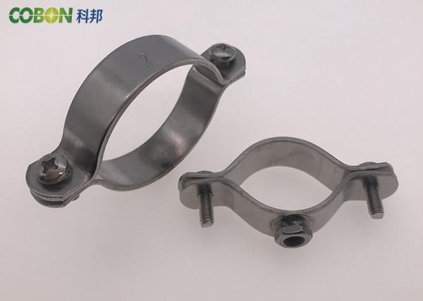 Pipe clamps stainless steel heavy duty pipe clamps tube