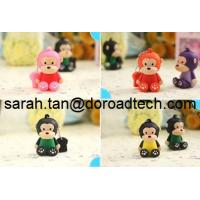 Fashion 3D Cartoon PVC USB Drive Keychain/2014 Hot Selling PVC USB Flash Drive