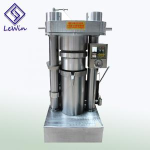 China Cold Press Hydraulic Oil Press Machine Corn Oil Refinery Plant High Capacity on sale