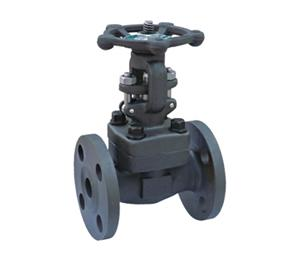 China Forging steel flange gate valves on sale