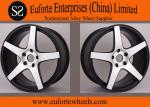 5 Spokes Golden 18  to 20  Aluminum Forged Wheels / Audi Wheel Rim