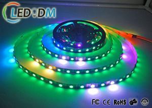 China Addressable Flexible LED Strip Lights WS2813 30 LEDs/M 5V Breakpoint Transmission Type on sale