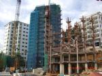 construction légère de cadre en acier