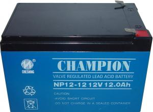 China Champion 12V12AH AGM battery 12V UPS battery Lead Acid battery manufacture on sale