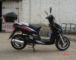 China Cvt Forced Mini Bike Scooter Air Cooled Engine 71.3 * 28.5 * 41.3 Inches wholesale