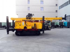 China Deep Hole Hydraulic Water Well Drilling Rig for Geological Exploration / Geothermic Well on sale