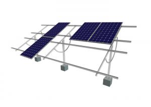 China Handle Solar Panel Adjustable Tilt Mount Sun Tracker High Strength Corrosion Resistance on sale
