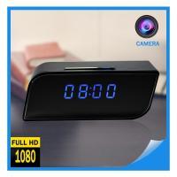Factory Supply 2018 Hot Selling Digital AlarmClockCCTVCameraFull HD SpyClock WIFI 1080P P2P Network Mini IPCamera