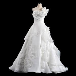 China China Wedding Dress /Fashion a-Line One Shoulder Train Bridal Wedding Dress on sale