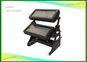 China 192 x 3w LED Wall Wash Lights multi Lens Angle , Dmx Led Flood Light on sale