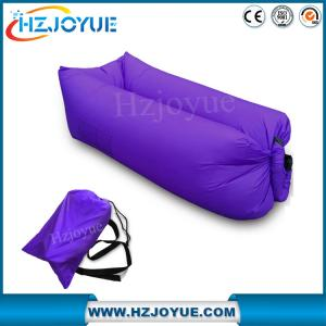 China Factory detect sell OEM LOGO Fast inflatable sleeping bag/inflatable air bed lazy lounger air sofa bag on sale