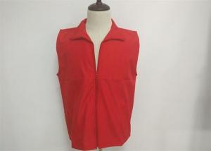 China Customized Waterproof Vest Casual Work Uniforms For Volunteer Group Activities on sale