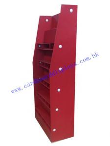 China power wing display stand with 4C printing manufacture on sale