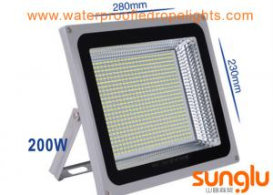 China 200W Outdoor LED Flood Lights Waterproof Aluminium Shell For Mining Lighting on sale