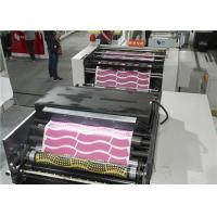 Metal Material Automatic Die Punching Machine 320times/min With Flexo Printing Machine