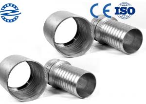 China High Performance Threaded Pipe Flanges , Concrete Rubber Flexible Hose Flange on sale