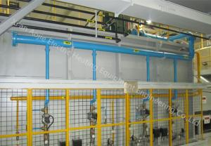 China Refractory Material Aluminium Brazing Furnace 8150mm Standard Muffle Length on sale