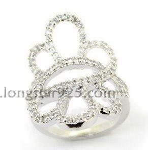 China silver rings jewelry supplier, 925 silver ring on sale