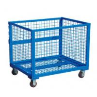 roll cage,portable cages,storage cages,roll Wire Container For Warehouse Use Steel Container Cage for Warehouse Storage