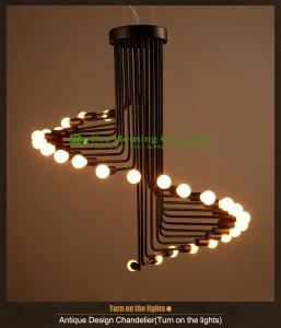 China European style large dining room lamp modern led chandelier from Canton lighting factory on sale