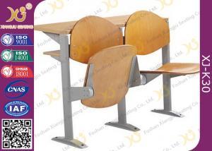 China Muebles plegables de escritorio de la sala de clase de la universidad de la melamina, sillas del teatro de conferencia on sale