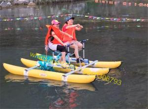 China inflatable water bike for sale water bicycle on sale