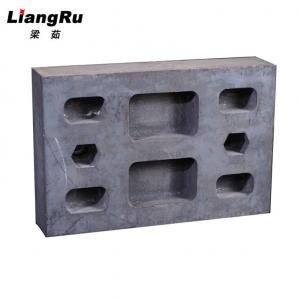 China White Iron Casting Gyratory Crusher Parts , Quarry Impact Plate Metso Wear Parts on sale