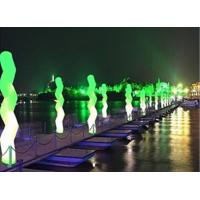 Inflatable Wave Led Lighting Color Changing Led For Dark Road
