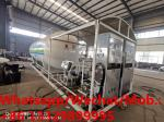 Factory sale best price 5tons mobile skid lpg gas station with double lpg gas dispenser for domestic gas cylinders
