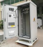 40U 19 Thermostatic Sandwich Outdoor Telecom Cabinet With Emerson Power System, Monitoring Unit