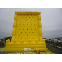 Funny Giant Inflatable Sports Games / Climbing Wall For Amusement Park Equipment For Family