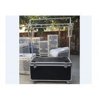 Portable Aluminium Flight Case For Storage Cloth / Drum / Musical Instrument