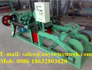 China Sell Double Reverse twisted Barbed Wire Machine on sale