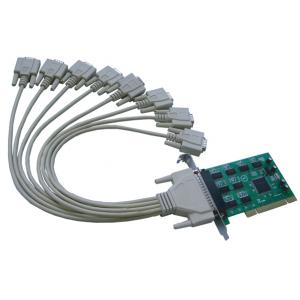 China PCI à la carte série de 8 ports, Sysbase1058 jeu de puces, carte en série-parallèle de PCI on sale