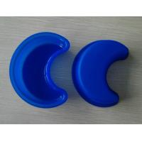 China Blue Crescent Moon Silicone Cake Mould , Non-sticking Impermeable Jelly Mould on sale