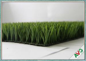 China Fire Resistance Football Artificial Turf With 60 mm Pile Height , Artificial Grass For Football on sale
