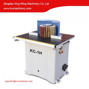 China Wheel brush sanding machine for solid wood MDF profile on sale