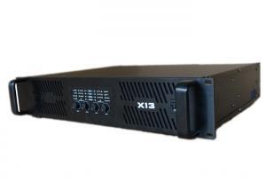 China 4 Channel Sound Power Amplifier 2500W Output , Class D High Power Dj Amplifier on sale