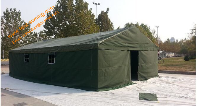 5x8m Outdoor Waterproof Canvas Camping Military Frame Army