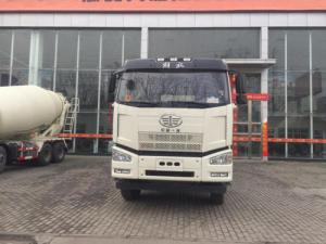 China FAW 6X4 mixer 12 cubic meters capacity low noise efficient truck on sale