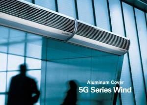 China Aluminum Silver Overhead Door Commercial Air Curtains With Low Noise on sale
